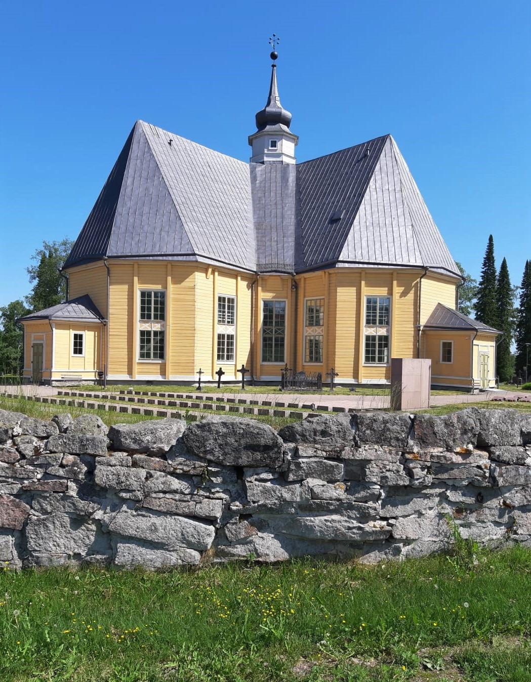Vuoden 2021 festivaalin kaikki konsertit soitetaan Ruoveden Sofia Magdalenan kirkossa